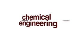 Chemical engineering animated word cloud. Stock Footage