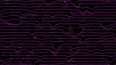 Purple electric lines VJ loop Stock Footage