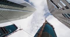 San Francisco Modern Skyscrapers Stock Footage