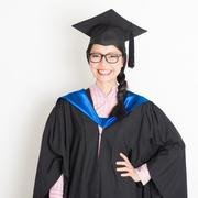 University student in graduation day Kuvituskuvat