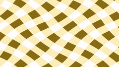 Wobbly gingham pattern changing colour Stock Footage