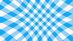 Blue Trellis Gingham pattern waving Stock Footage