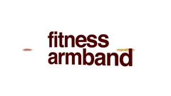 Fitness armband animated word cloud. Stock Footage