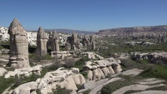Cappadocia, Nevsehir Province in the Central Anatolia Region of Turkey, Asia Stock Footage
