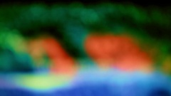 Multi-color transformation waves. Stock Footage