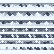 Greek pattern border - grecian ornament Piirros