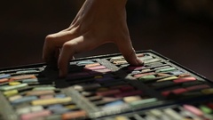 Childrens Art Studio Stock Footage