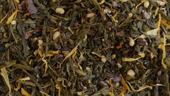 Green tea close up. Loopable rotation Stock Footage
