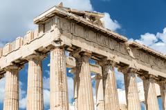 Parthenon in Athens, Greece Kuvituskuvat