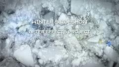 Winter Slideshow Kuvapankki erikoistehosteet