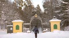 Winter in Stockholm, Sweden Stock Footage