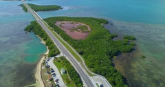 Nature preserve Florida Keys 4k 24p prores Stock Footage