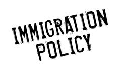 Immigration Policy rubber stamp Piirros