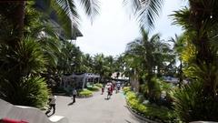 Pattaya, Thailand on November 24 Nong Nooch Tropical Garden Stock Footage