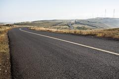 Highway in Inner Mongolia province, China Stock Photos