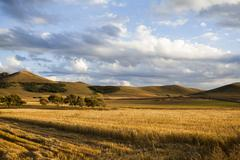 Rural scenery in Inner Mongolia province, China Stock Photos
