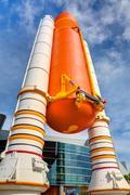 NASA Space Shuttle Atlantis Exhibit Kuvituskuvat
