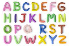 Capital letters Stock Photos