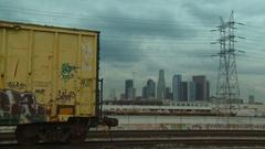 DTLA Graffiti Time-lapse Stock Footage