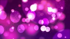 Abstract Bokeh Background purple valentine glitter Stock Footage