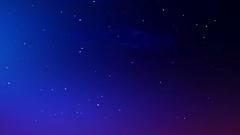 Twinkle stars pan Stock Footage