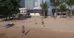 Jomtien Beach Day 03 Stock Footage
