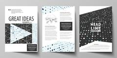 Business templates for brochure, flyer, booklet, report. Cover template Stock Illustration