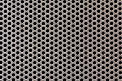 Perforated Metal Sheet Texture Macro Detail Stock Photos