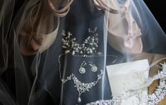 Wedding preparations Stock Photos