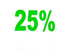Bouncing Green 25% Stock Footage