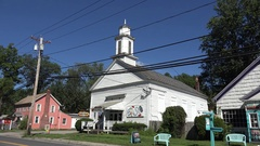 Woodstock, Ulster County, New York, United States. Stock Footage