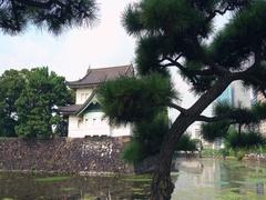 The Sakuradamon Gate at Tokyo Imperial Palace. Stock Footage