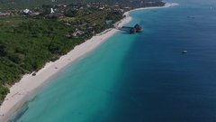 Zanzibar island from the heights. Stock Footage