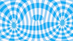 Blue gingham pattern ripples Stock Footage