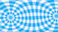 Blue gingham pattern waving Stock Footage