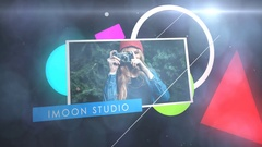3D Shapes Slideshow Stock After Effects