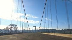 Driving Across The Martinez Bridge Stock Footage