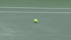 Man playing tennis. Stock Footage