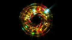 Yellow abstract beautiful motion sphere background 4K UHD Stock Footage