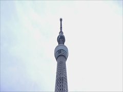 View of Tokyo Sky Tree Stock Footage
