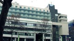VIENNA, AUSTRIA Steadicam shot of SAP office. 4K establishing Stock Footage