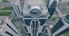 Aerial View Of Chechnya Grozny, Grozny City Stock Footage