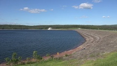 The Neversink Reservoir, Sullivan County, New York, United States. Stock Footage