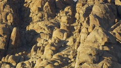 A mountainous desert landscape. Stock Footage