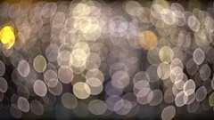 Ambient abstract bokeh particles background 4k video Arkistovideo