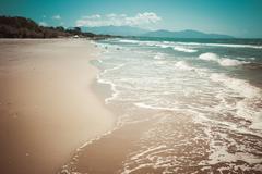 Dreamy Beach Stock Photos