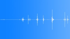 Household - key turn old deadbolt lock 01 Sound Effect