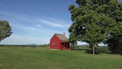 Saratoga National Historical Park, Stillwater, New York, United States. Stock Footage