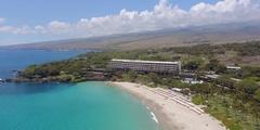 Mauna Kea Beach Resort Stock Footage