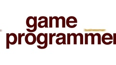 Game programmer animated word cloud. Stock Footage